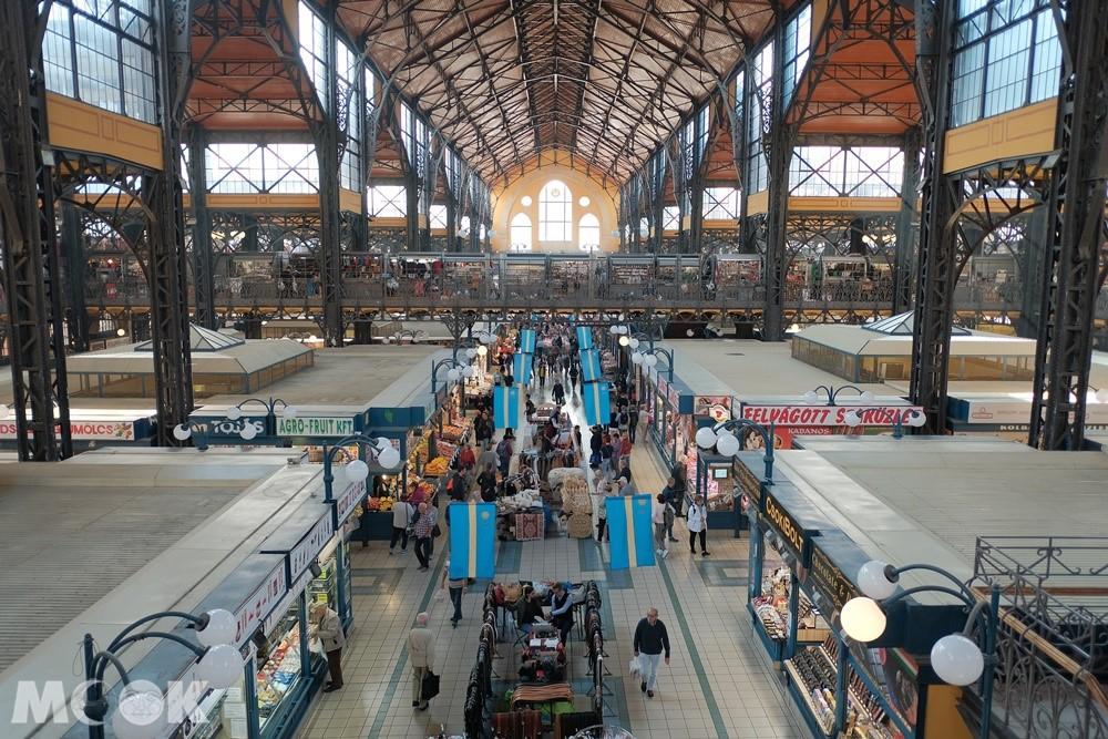 布達佩斯中央市場內部