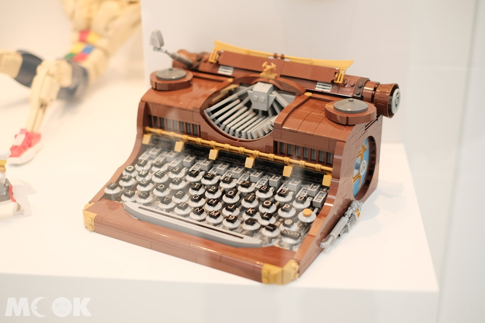 樂高之家Masterpiece Gallery中的樂高打字機