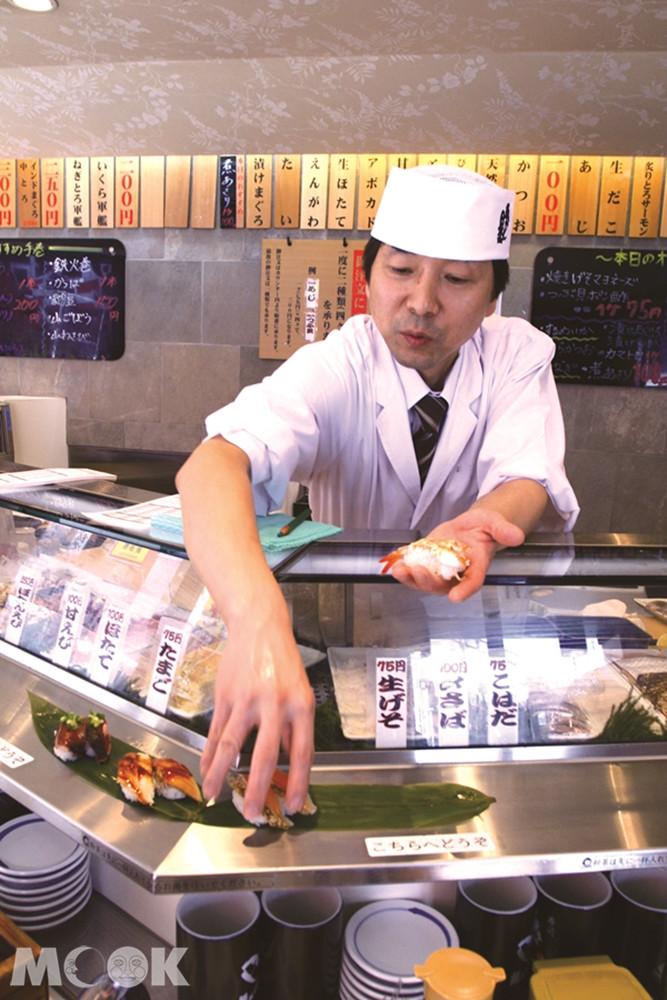 立喰い寿司 魚がし日本一