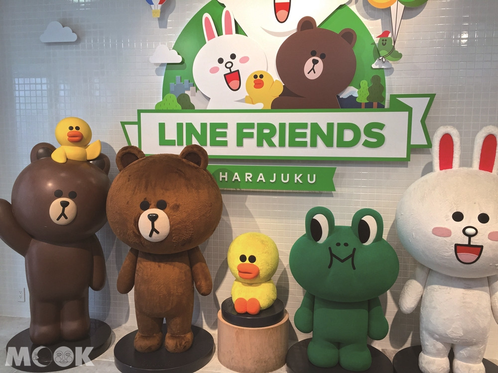 LINE FRIENDS FLAGSHIP STORE 原宿
