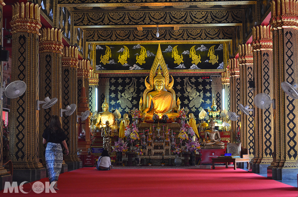 泰國 清邁 古城 寺廟 泰國寺廟 攀安寺 內部 大殿