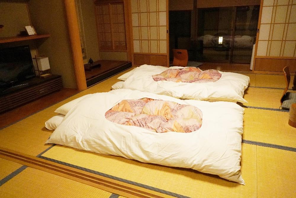 不動院日式床