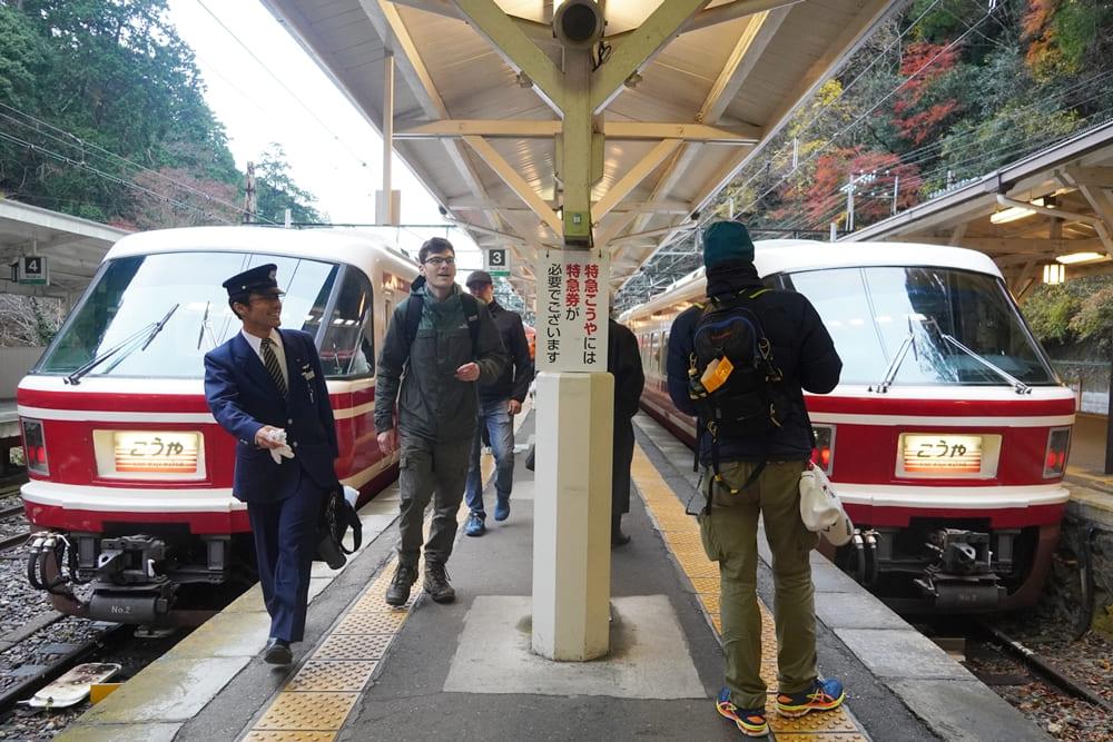 高野山特急列車