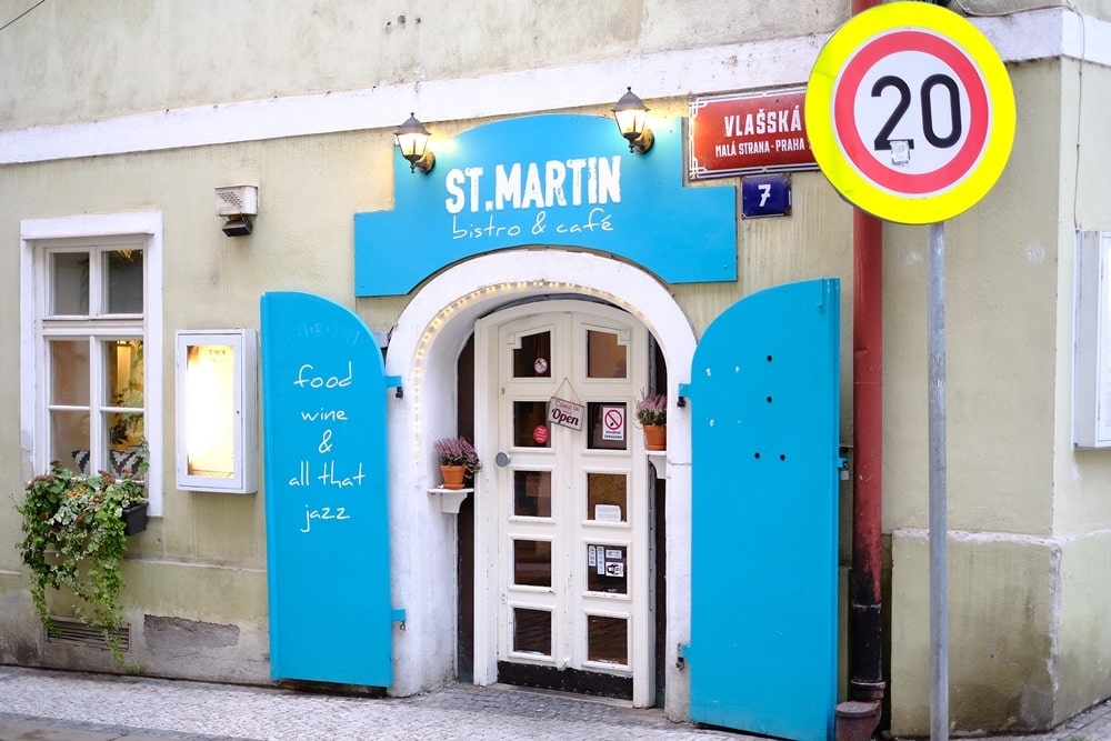 St Martin餐廳門口