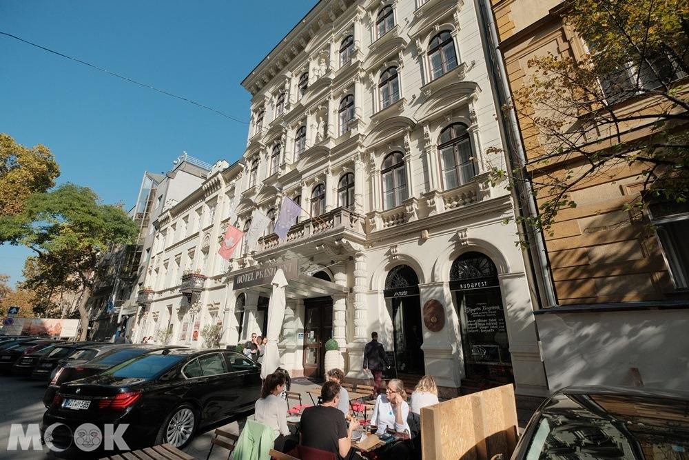 布達佩斯總統飯店外觀