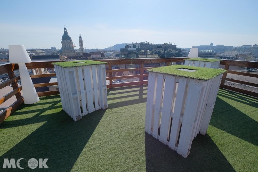 布達佩斯總統飯店樓頂