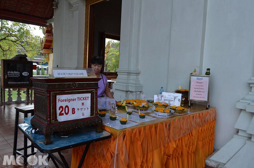泰國 清邁 古城 寺廟  泰國寺廟 帕邢寺 主殿 門票