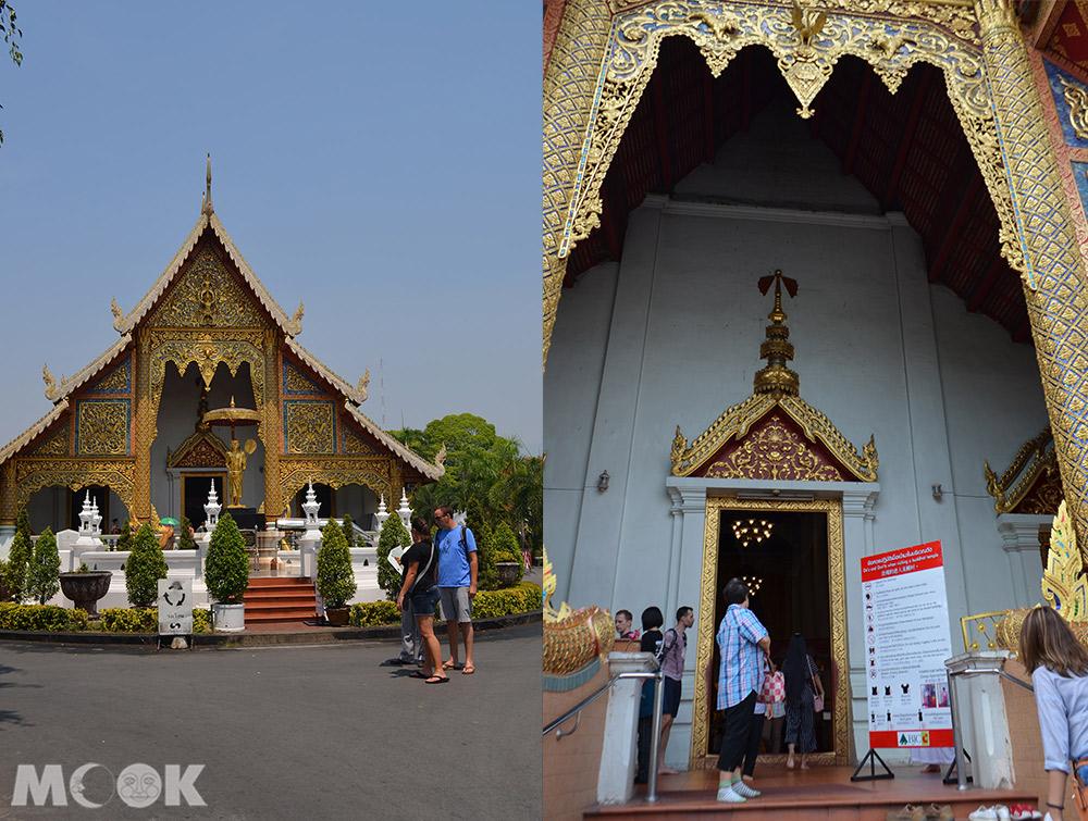 泰國 清邁 古城 寺廟 泰國寺廟 帕邢寺 主殿 外觀