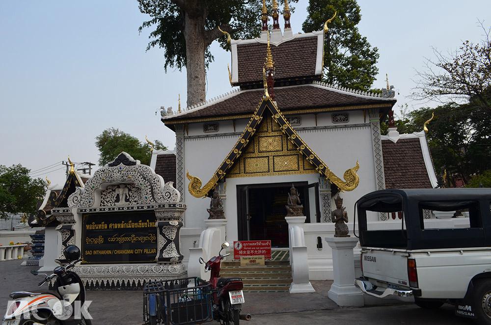 泰國 清邁 古城 寺廟 泰國寺廟 聖隆骨寺 柴迪隆寺 城市柱