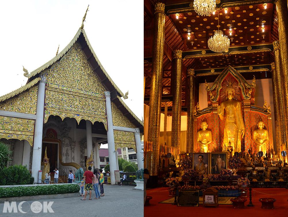 泰國 清邁 古城 寺廟 泰國寺廟 聖隆骨寺 柴迪隆寺 僧院內外