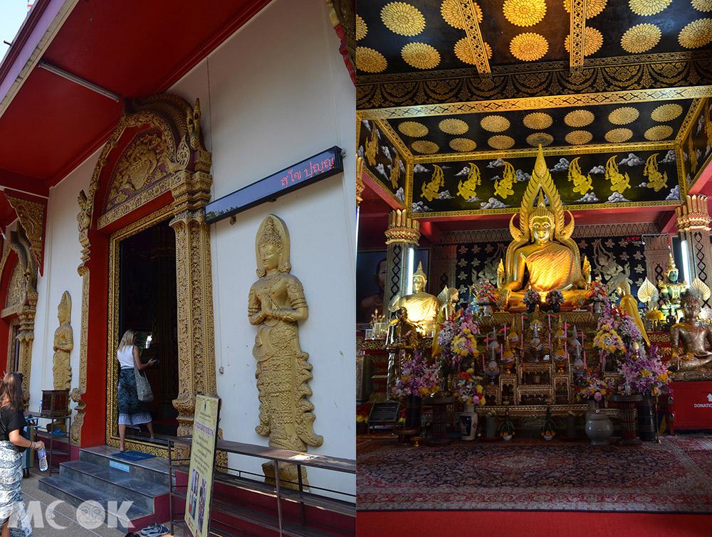 泰國 清邁 古城 寺廟 泰國寺廟 攀安寺 內部