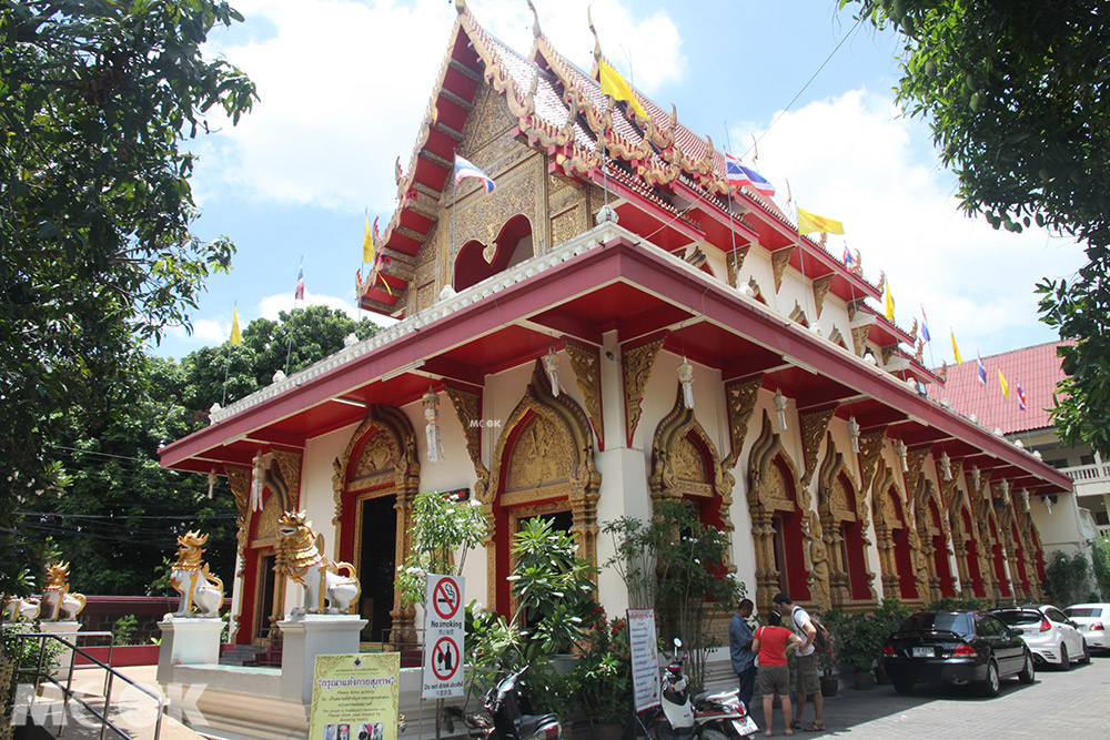 泰國 清邁 古城 寺廟 泰國寺廟 攀安寺 外觀