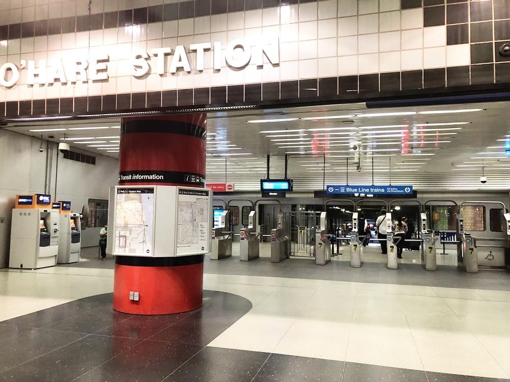 芝加哥歐海爾機場地鐵站O'Hare International Airport
