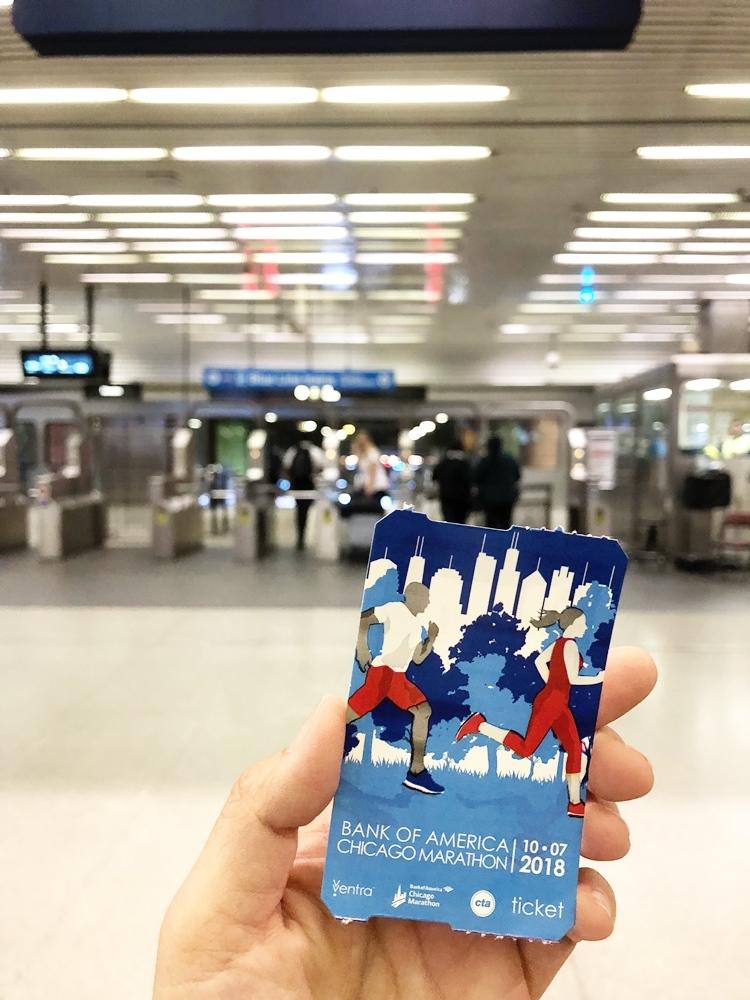 芝加哥地鐵單程票