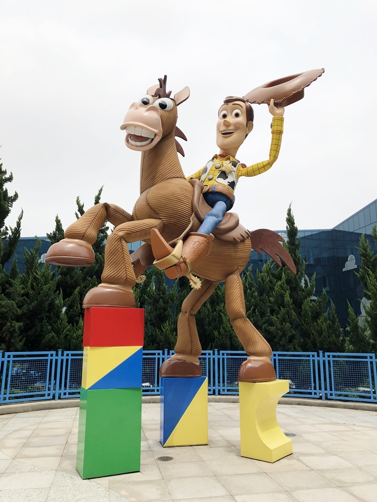 上海迪士尼玩具總動員酒