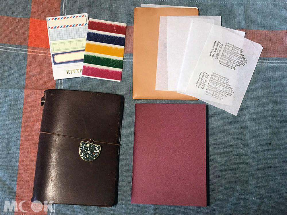 旅行 手帳 筆記本 隨身手帳 紙膠帶 L夾
