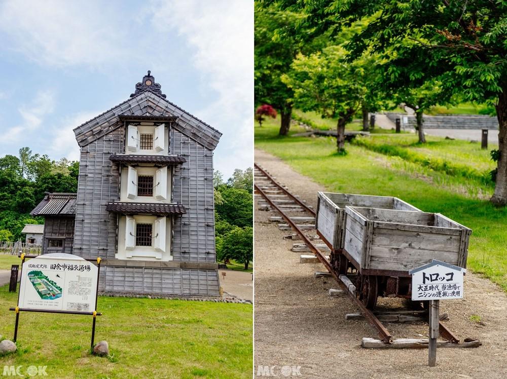北海道舊余市福原漁場的番屋展示