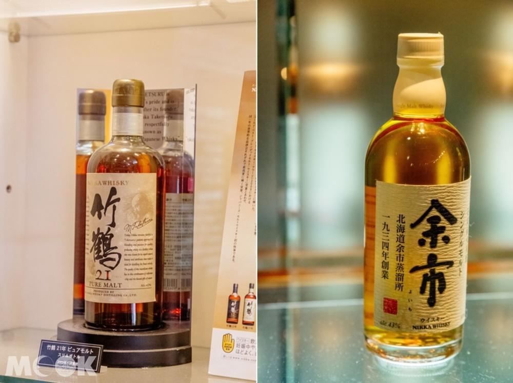 NIKKA WHISKY余市蒸溜所生產的威士忌
