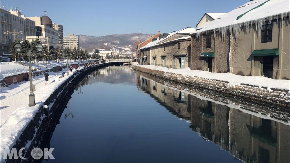 北海道的必訪景點小樽運河