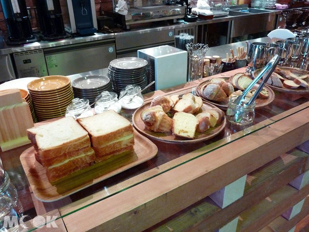 小樽OTARU TIMES GARTEN的人氣早餐吐司set