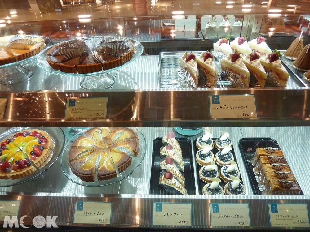 小樽咖啡廳OTARU TIMES GARTEN的甜點