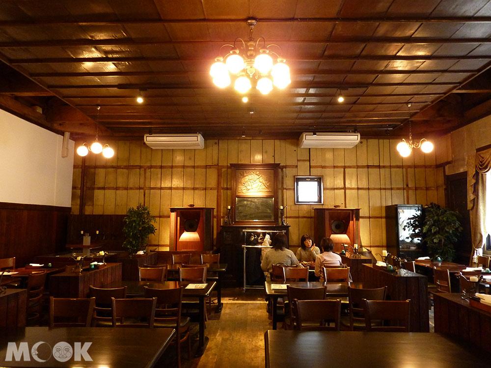 位在小樽的cafe色內食堂