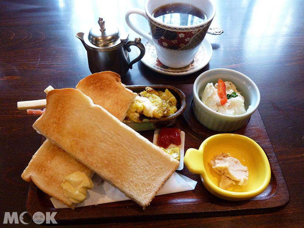 小樽色內食堂提供的早餐套餐