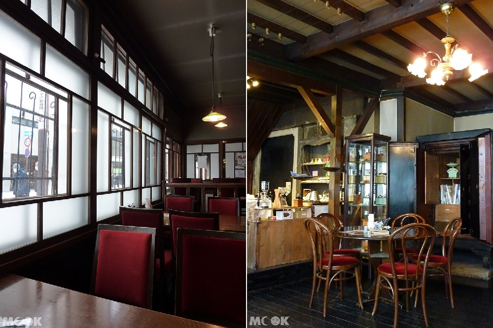 小樽堺町的咖啡廳くぼ家Kuboya室內