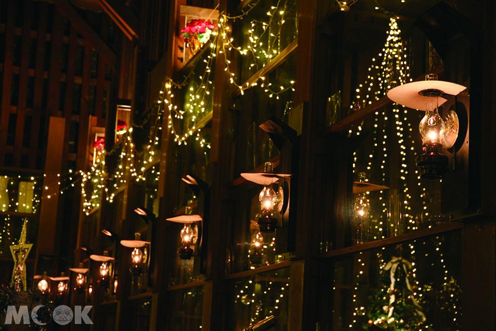 小樽堺町北一硝子三號館的咖啡廳