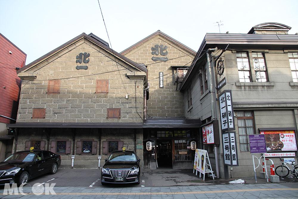 小樽堺町的北一硝子三號館