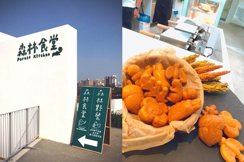 台灣 新竹 北台灣 新竹市立動物園  森林食堂 雞蛋糕 可愛