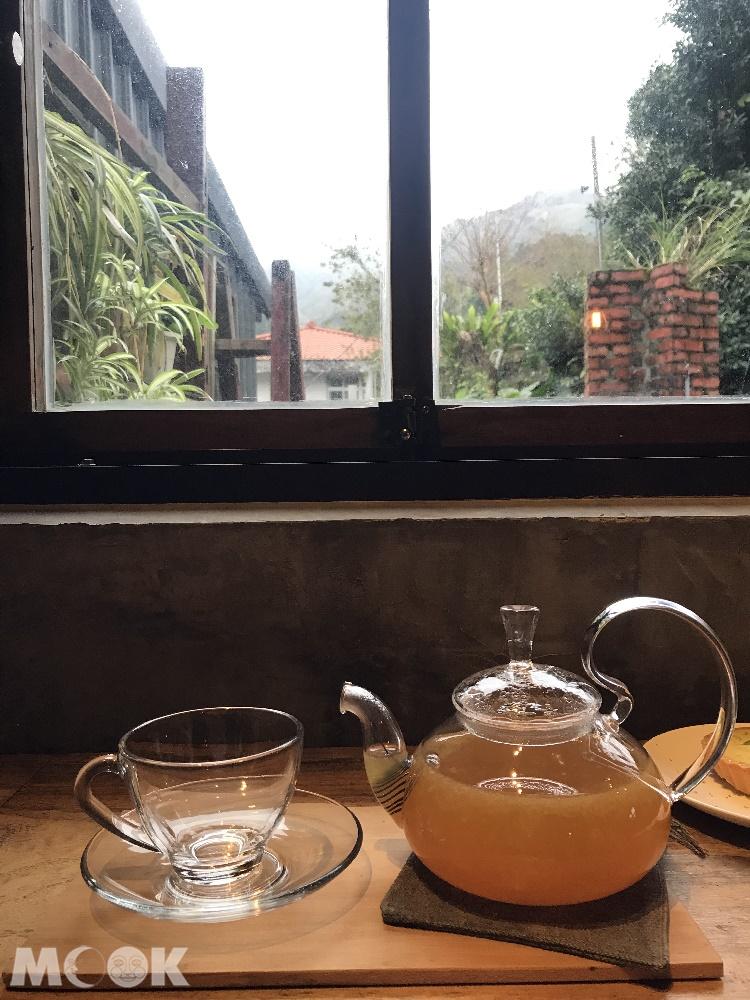 金瓜石散散步老宅咖啡的飲品