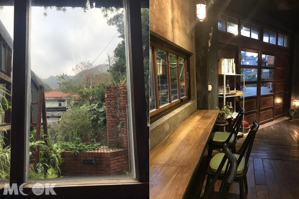 位在金瓜石祈堂老街的散散步咖啡廳
