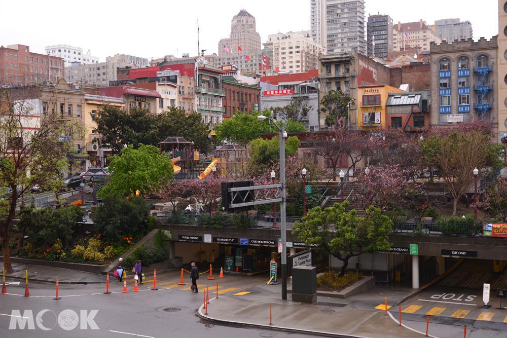 舊金山市中心的樸茲茅斯廣場