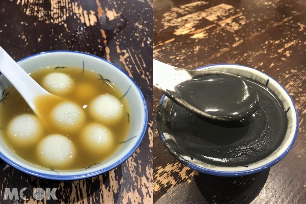 香港 九龍 佐敦 佳佳甜品 米其林 街頭小食 薑汁寧波湯圓 芝麻糊