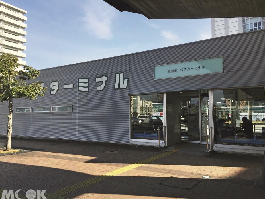 墨刻MOOK日本四國高知車站高速巴士站