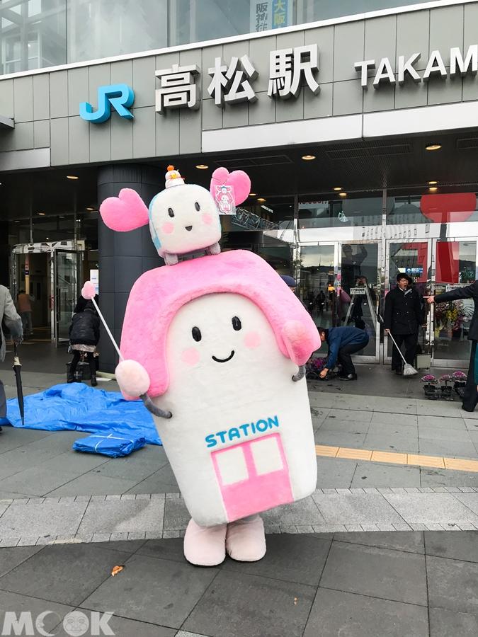 墨刻MOOK日本四國香川縣高松車站吉祥物