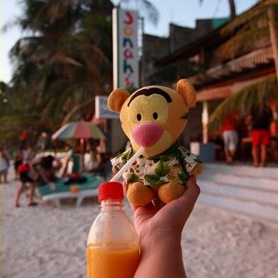 長灘島mango shake