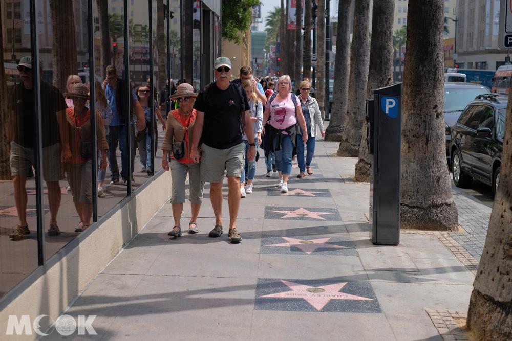 好萊塢大道上的星光大道