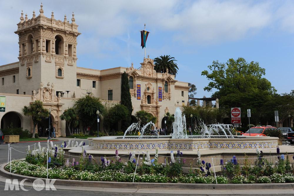 聖地牙哥巴博雅公園中的遊客服務中心