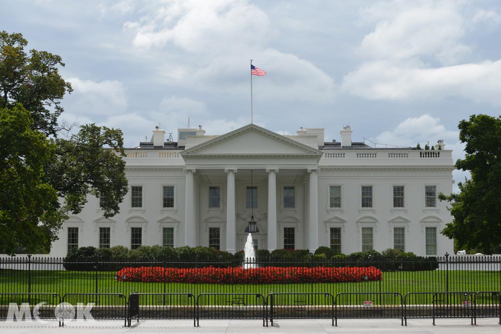 華盛頓特區的白宮