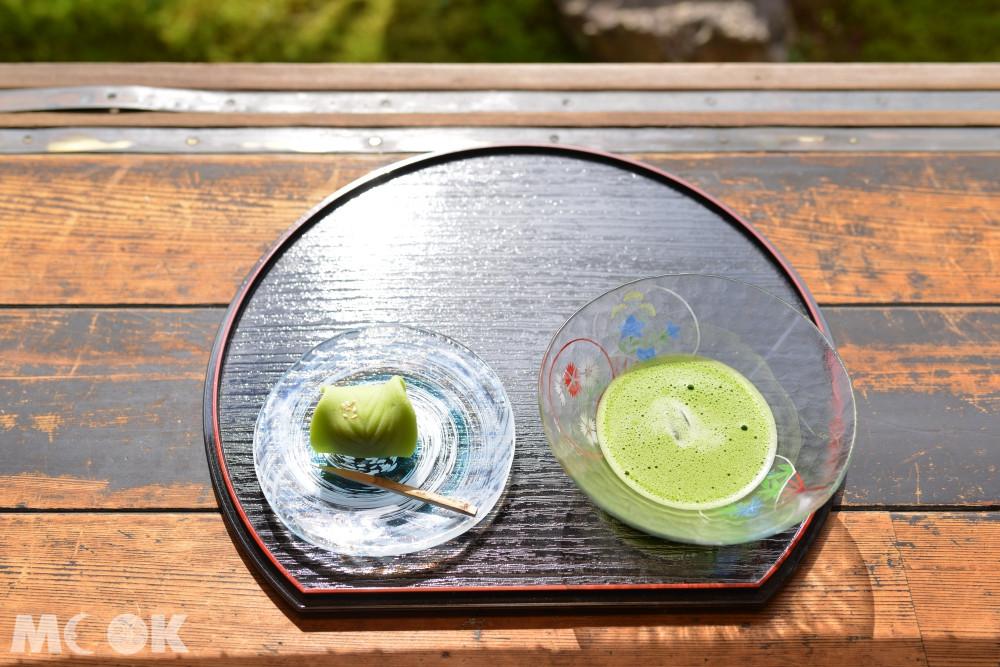 坐禪完品一杯日式抹茶,享受獨特的日式時光~