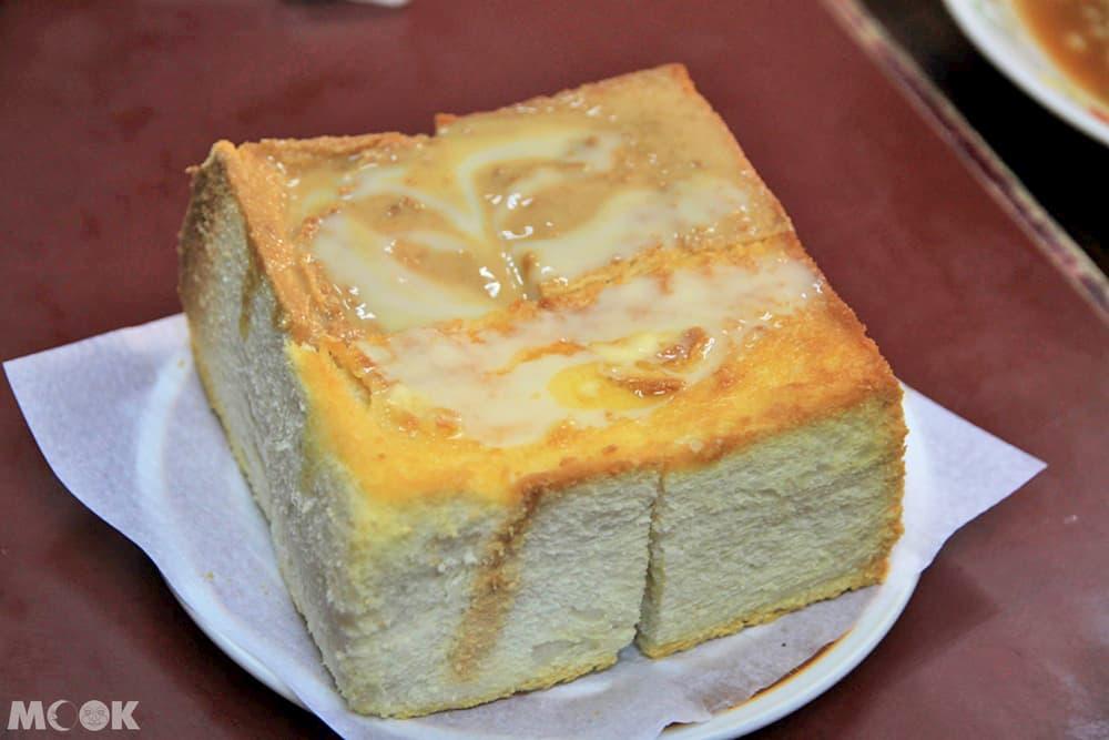 花生醬奶油多士