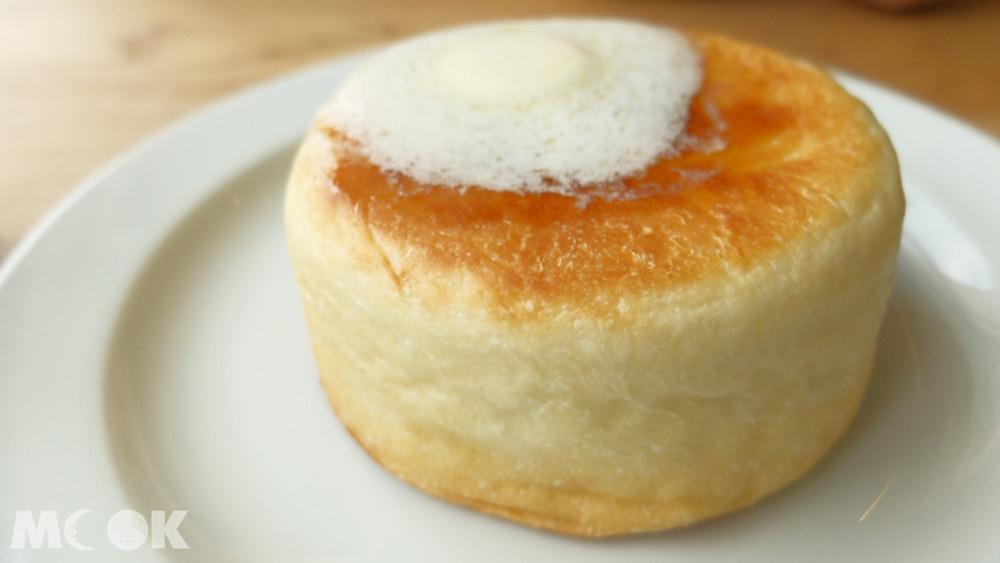 Café Mame-Hico的鬆餅麵包