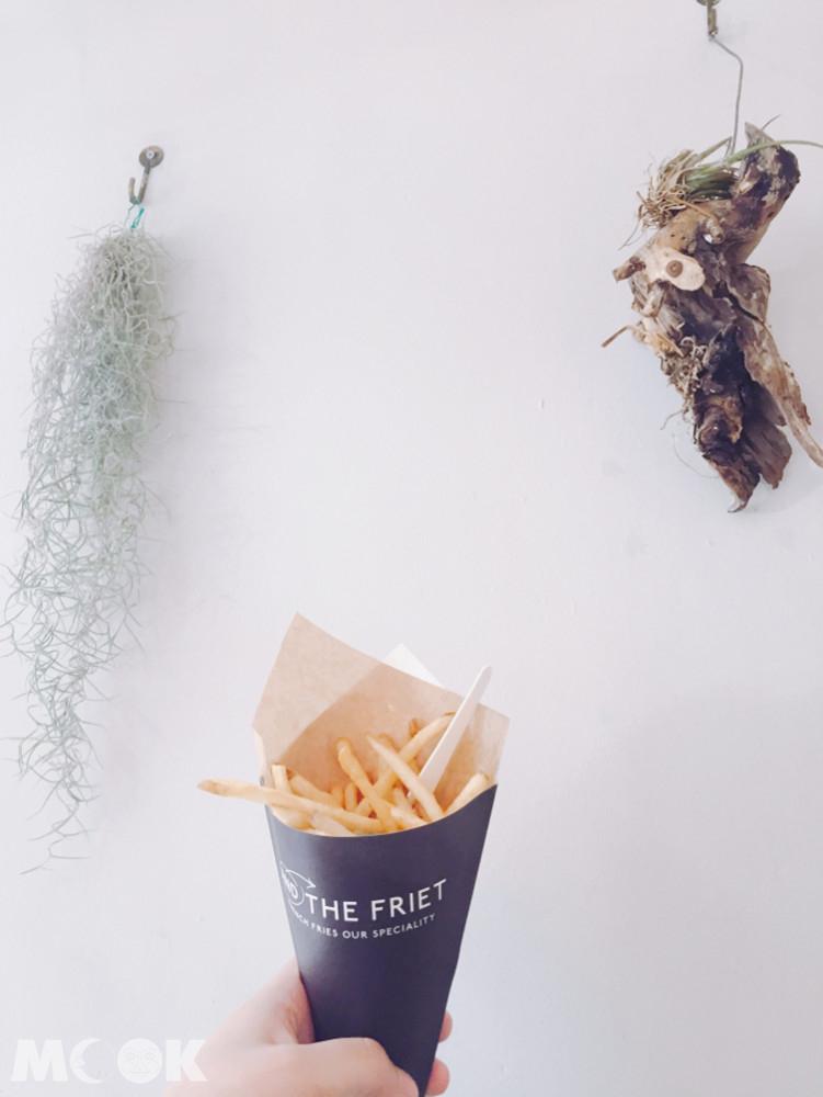 店家嚴選的馬鈴薯有從比利時運來的特殊品種,以及日本當地國產的品種共六種