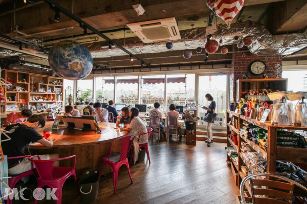 東急手創館澀谷店頂樓有關東唯一一家Hands Café