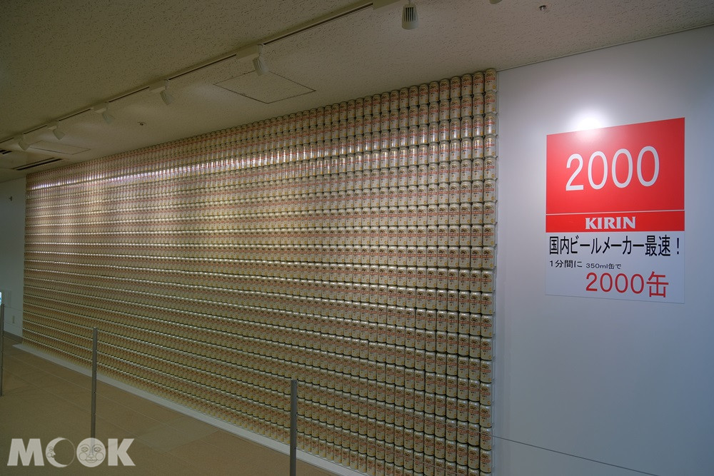 麒麟啤酒神戶工廠 – 麒麟啤酒牆