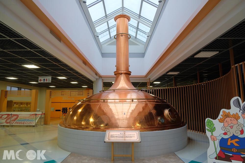 麒麟啤酒神戶工廠超大預處理桶