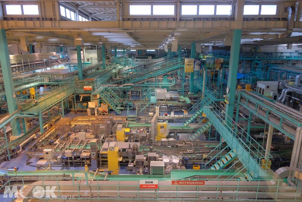 麒麟啤酒神戶工廠 - 製品工廠