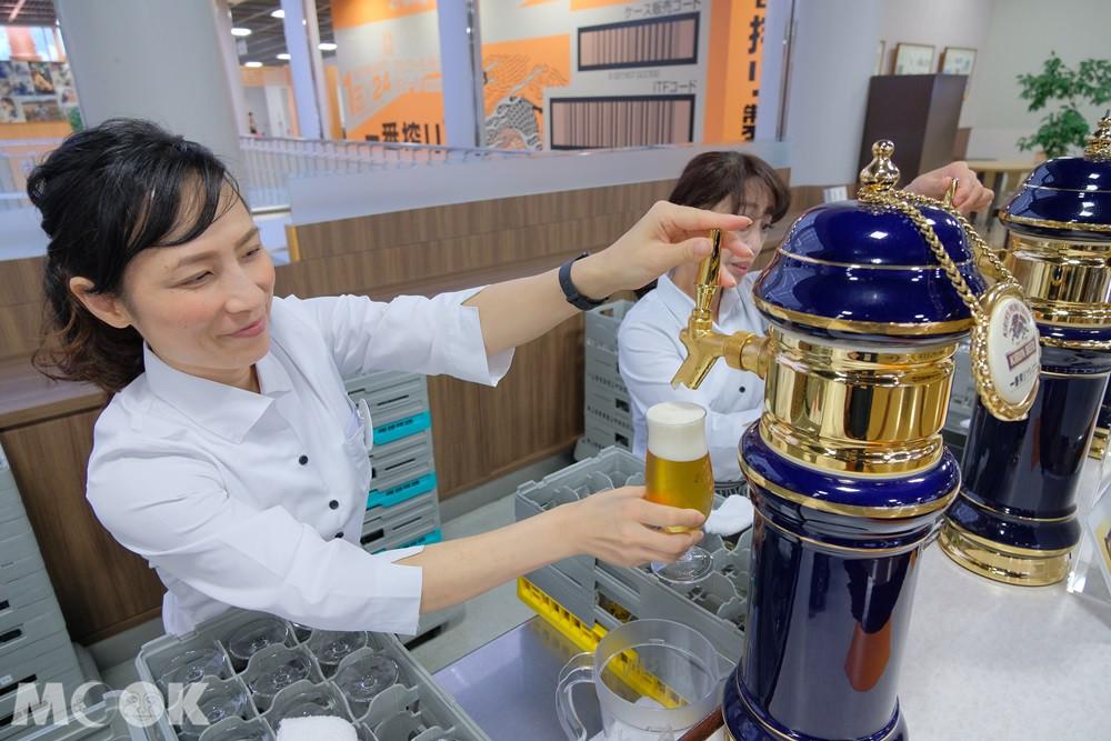 麒麟啤酒神戶工廠 – 試飲大廳